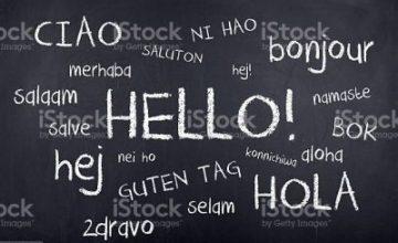 imparare una nuova lingua